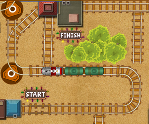 jeux en ligne train